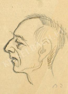 Barta István - Férfiarckép (1910 körül)