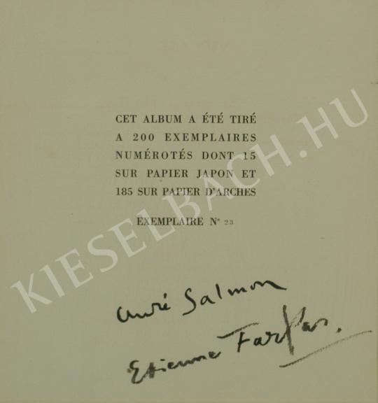 Eladó  Farkas István - Correspondance-mappa címlap, 1929 - A 8db együttes ára: 1 875 000 Ft festménye