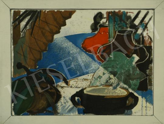 For sale  Farkas, István - Flavours (Still-life), 1929 - Together the Lithographies: 1 875 000 HUF 's painting