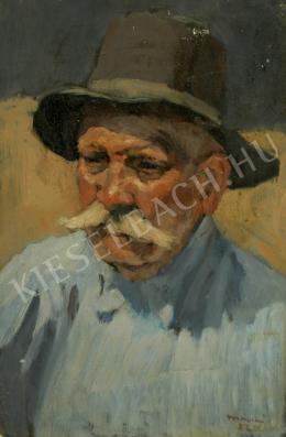 Mácsai István - Öreg férfi portréja (1952)