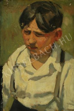 Mácsai István - Kisfiú portréja (1952)