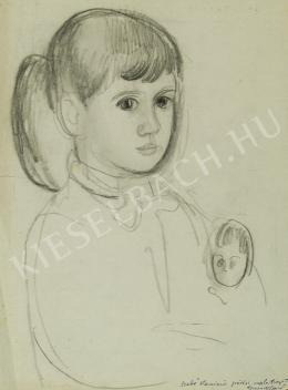 Szabó Vladimir - Kislány babával