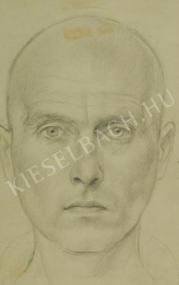 Szabó, Vladimir - Male head (Study) (1948)