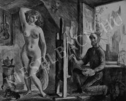Szabó, Vladimir - Nude in the studio