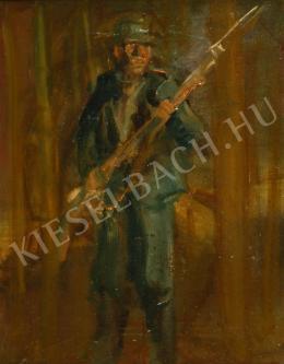 Mednyánszky László - Őrségben (1915 körül)