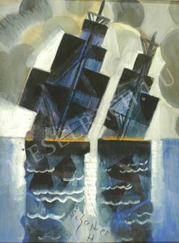 Scheiber, Hugó - Sailboats (1920s)