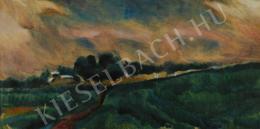 Uitz, Béla - Stormy landscape