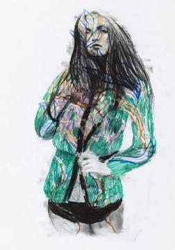 Tinei, Alexander - Lány | 8. Bátor Tábor Kortárs Művészeti Aukció aukció / 15 tétel