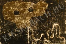 Bálint Endre - Köldökzsinóros játékos maszk (1969)