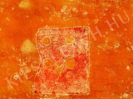 Bálint Endre - Róma falai (Kártyás maszk) (1969 körül)