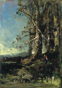 K. Spányi Béla - Erdőben