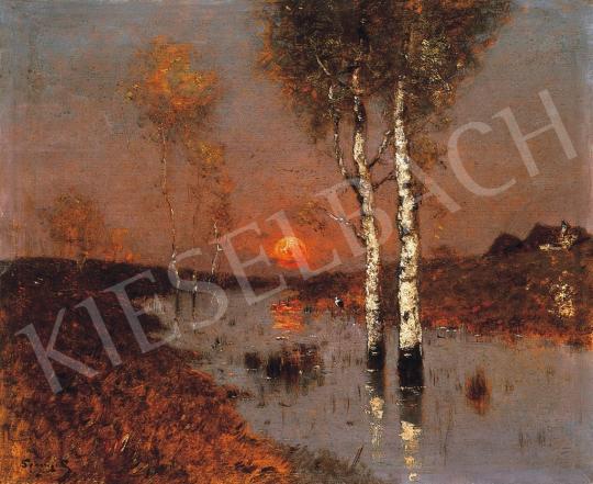 K. Spányi Béla - Esthangulat | 17. Aukció aukció / 83 tétel