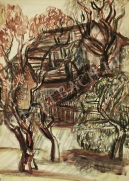 Beck Judit - Szentendrei kert (Nyár) (1940)
