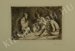 Rudnay Gyula - Beszélgetők (1923)