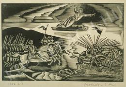 Molnár C. Pál - Szent László a magyar hadak élén (1942)