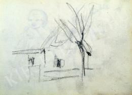 Nyilasy Sándor - Háztanulmány (1910 körül)