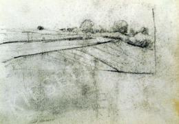 Nyilasy Sándor - Töltés a Tiszánál (1910 körül)