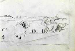 Nyilasy Sándor - Ártéri fák a Tiszánál (1910 körül)