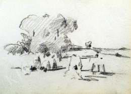 Nyilasy Sándor - Nagy fa Tápénál (1910 körül)