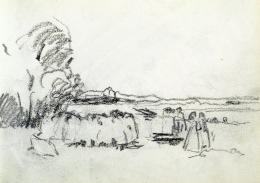 Nyilasy Sándor - Érkeznek a halászok (1910 körül)