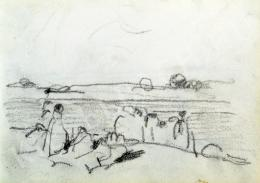 Nyilasy Sándor - Randevú a Tisza-parton (1910 körül)