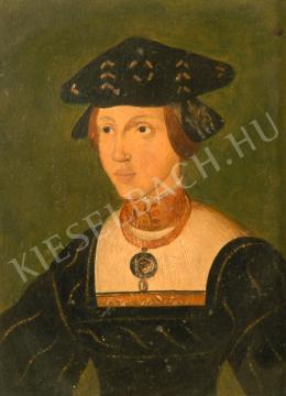 Túry Gyula - Habsburg Mária királyné portréja (1880-as évek)