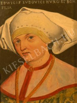 Túry Gyula - Hedvig királylány (Jadviga lengyel királyné portréja) (1880-as évek)