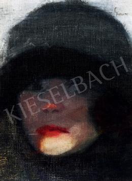 Gara Arnold - Art deco női fej