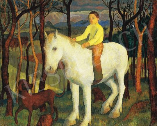 Hegedűs Endre - Tavasz (Fehér lovon) | 17. Aukció aukció / 99 tétel