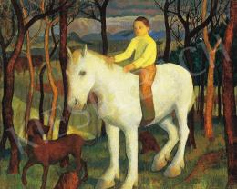 Hegedűs, Endre - Spring (On a white horse)