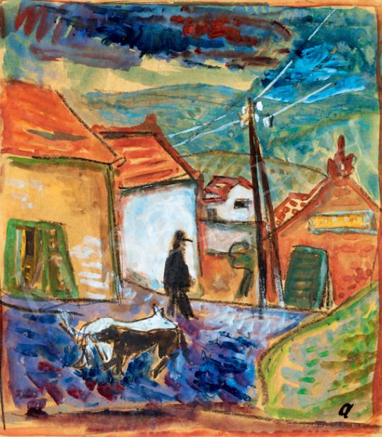 Ámos, Imre - On the Way Home (Szentendre) | 41th Auction auction / 7 Item