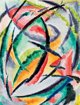 Mattis Teutsch, János - Soul Flowers (c. 1919)