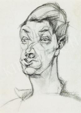 Tihanyi, Lajos, - Self-Portrait (1915)