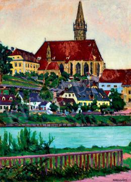 Kosztolányi Kann, Gyula - German Town on the Riverbank