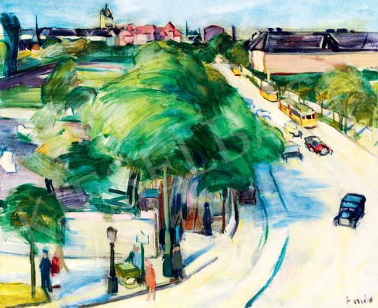Emőd, Aurél - Town Scene | 41th Auction auction / 24 Item