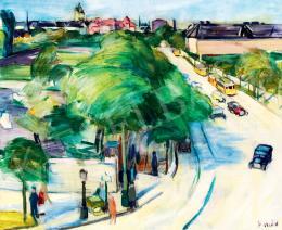 Emőd, Aurél - Town Scene
