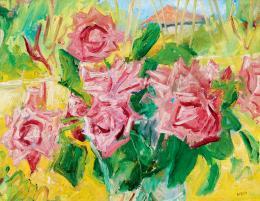 Basch Andor - Virágok vázában