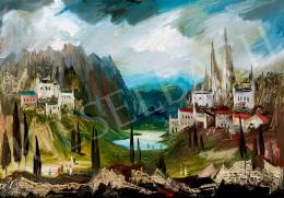 Molnár C. Pál - Romantikus táj