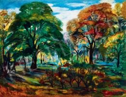 Kernstok, Károly - Forest Landscape