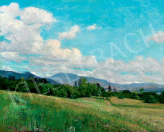 Rátz, Péter - Sunny Landscape in Nagybánya | 41th Auction auction / 46 Item