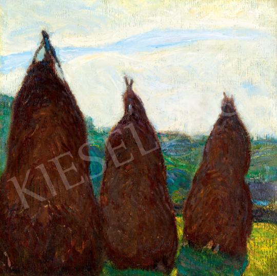 Hollósy, Simon - Hay Stacks | 41th Auction auction / 47 Item