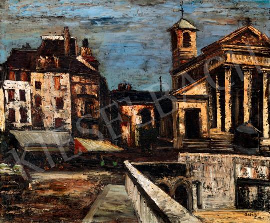 Orbán Dezső - Városrészlet (Francia kisváros)   41. Aukció aukció / 59 tétel