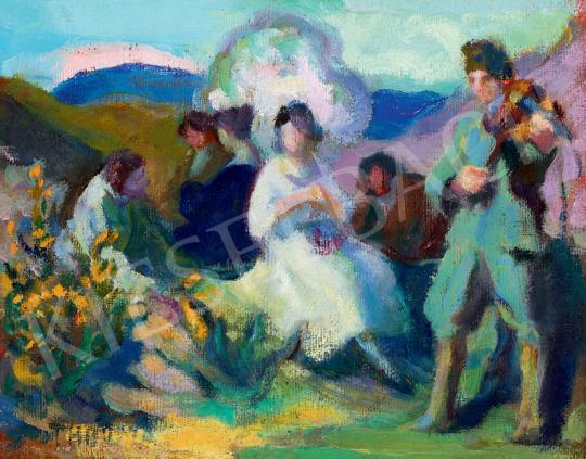 Thorma János - Majális (Társaság a szabadban) | 41. Aukció aukció / 62 tétel