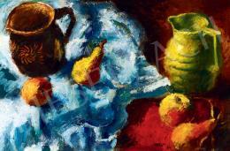 Basch Andor - Csendélet gyümölcsökkel