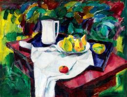 Barcsay, Jenő - Still-Life in Garden