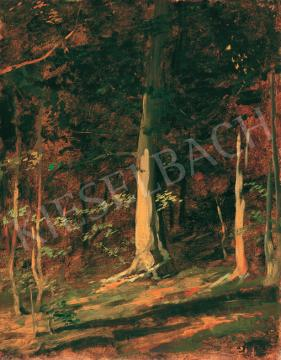 Benczúr, Gyula - Sunlit Forst | 41th Auction auction / 103 Item