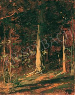Benczúr Gyula - Napfényes erdő