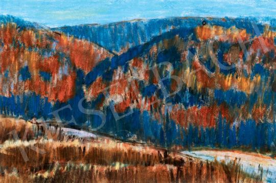 Nagy István - Dombok, kék árnyékok | 41. Aukció aukció / 118 tétel