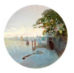 Herrer, Cézár - Siunset in Venice