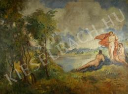 Herman, Lipót - Nymph in the open air (1920 s)